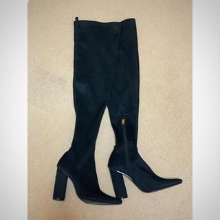 イエローブーツ(Yellow boots)のyello ブラックロングブーツ(ブーツ)