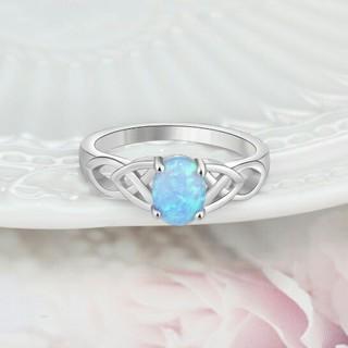 ブルーオパールリング(リング(指輪))