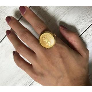 イヴサンローランボーテ(Yves Saint Laurent Beaute)のヴィンテージイヴサンローランYSLリング(リング(指輪))