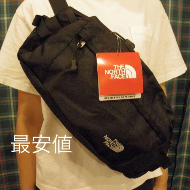 THE NORTH FACE(ザノースフェイス)のブラック☆ ノースフェイス ウエストバッグ ウエストバッグ 黒 メンズのバッグ(ボディーバッグ)の商品写真