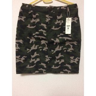 ローリーズファーム(LOWRYS FARM)のカモフラ タイトスカート 迷彩柄(ミニスカート)