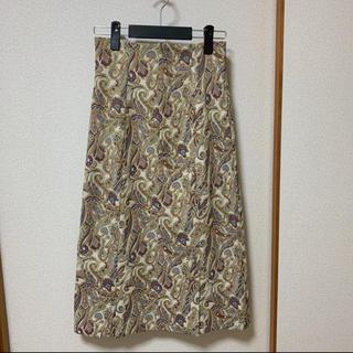 フレイアイディー(FRAY I.D)の新品♡FRAY I.D ジャガードハイウエストスカート♡(ロングスカート)