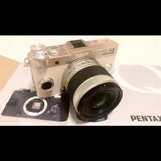 ペンタックス(PENTAX)のPENTAX ペンタックス Q-s1 ミラーレス一眼レフ 保証書付き(ミラーレス一眼)