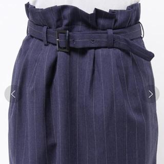 フィグロンドン(fig London)のストライプスカート(ひざ丈スカート)