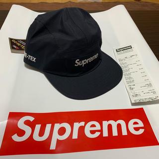 シュプリーム(Supreme)のsupreme gore-tex 19aw 黒(キャップ)