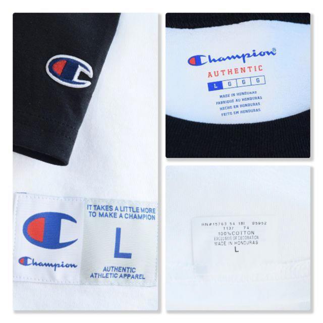 DEUXIEME CLASSE(ドゥーズィエムクラス)のドゥーズィエムクラス Champion ベースボール ラグラン BIG Tシャツ レディースのトップス(Tシャツ(長袖/七分))の商品写真