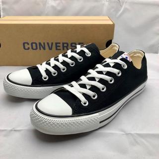 CONVERSE - CONVERSE コンバース ローカット スニーカー ブラック 24.0cm