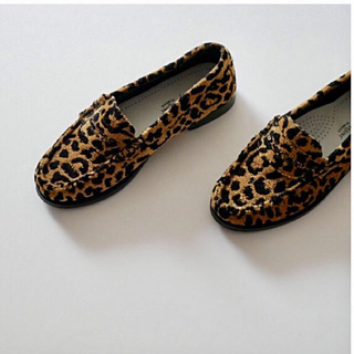 DEUXIEME CLASSE - ドゥーズィエムクラス RE/DONE LEOPARD LOAFER 40