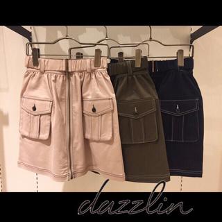 ダズリン(dazzlin)の新品 ダズリン ミリタリー トレンチ スカート 台形スカート(ひざ丈スカート)