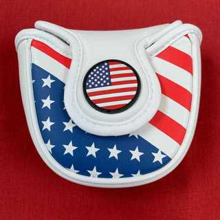 パターカバー マレットパター マレット型 USA柄 USA
