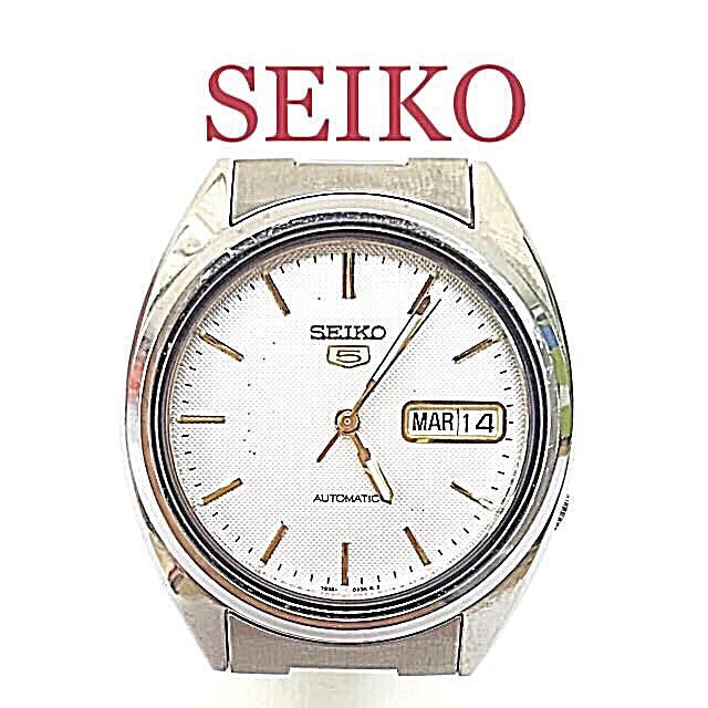 SEIKO - 鑑定済み 正規品 セイコーSEIKO ファイブ 自動巻腕時計 送料込みの通販 by 和's shop|セイコーならラクマ