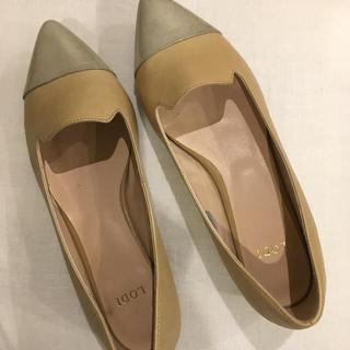 ローヒールの靴(ローファー/革靴)