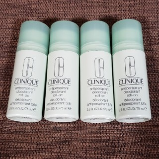 クリニーク(CLINIQUE)の【新品】クリニーク デオドラントロールオン 75ml(制汗/デオドラント剤)