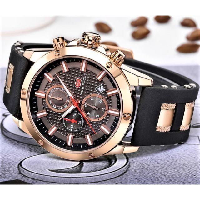 ◆新品◆ 高性能クロノグラフ搭載 クォーツ腕時計 360の通販 by まちのとけいやさん shop|ラクマ