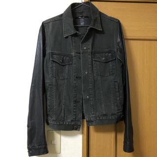 スビ(ksubi)のksubi wild dog leather/denim jacket (Gジャン/デニムジャケット)