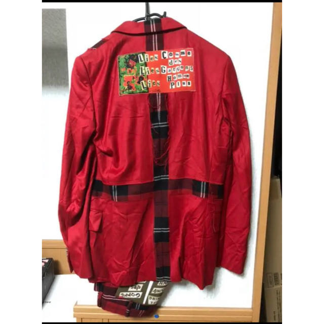 COMME des GARCONS HOMME PLUS(コムデギャルソンオムプリュス)のコムデギャルソン オムプリュス08AW ジャケット 希少 メンズのジャケット/アウター(テーラードジャケット)の商品写真