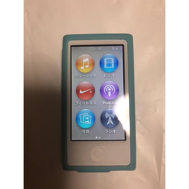 Apple(アップル)のiPodnano   7世代    値下げ中 スマホ/家電/カメラのオーディオ機器(ポータブルプレーヤー)の商品写真