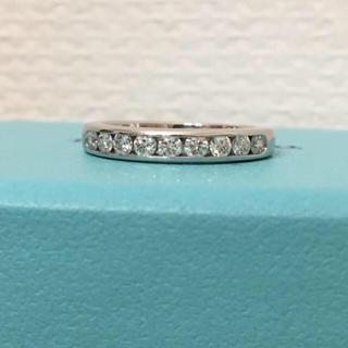 Tiffany & Co. - 美品 ティファニー ダイヤモンド リング