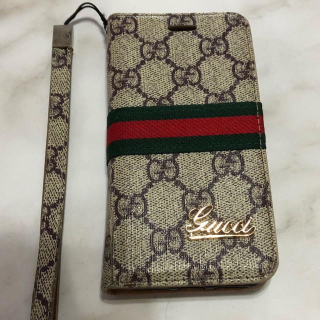Gucci - お値下げ❗️I phone8 手帳型ケース❣️の通販