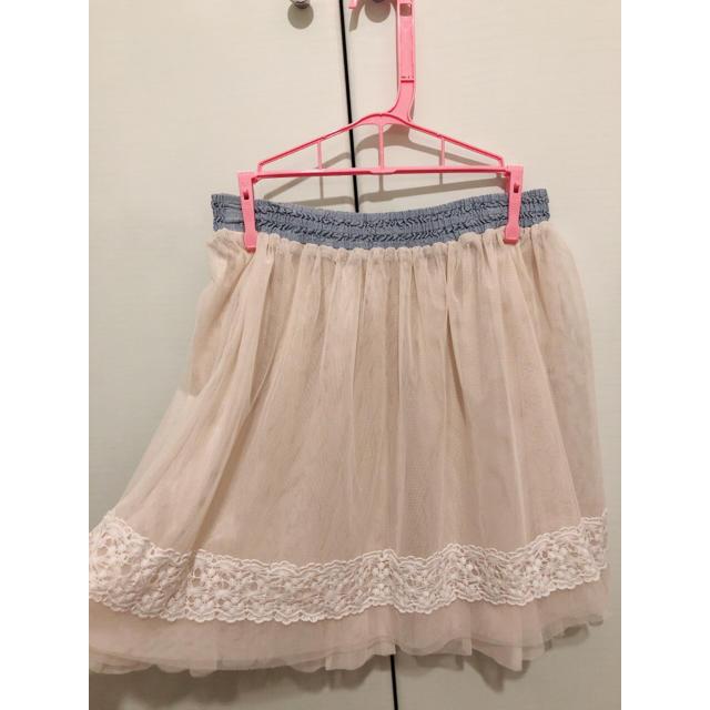 THE EMPORIUM(ジエンポリアム)のチュールスカート レディースのスカート(ひざ丈スカート)の商品写真