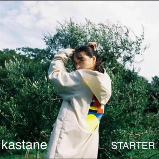 カスタネ(Kastane)のkastane STARTER×Carla ベンチコート XL(ロングコート)