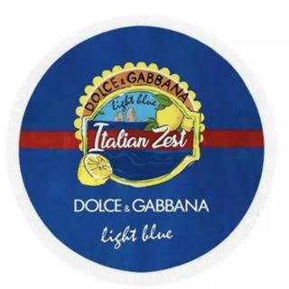 ドルチェアンドガッバーナ(DOLCE&GABBANA)のD&Gブルーライトサン ビーチタオル(タオル/バス用品)