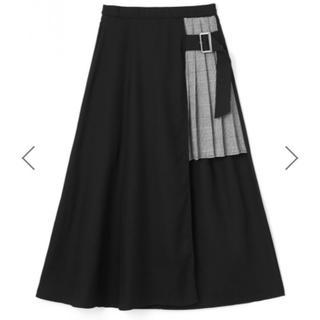 GRL - 新品♡GRL グレンチェックプリーツスカート切り替えスカート