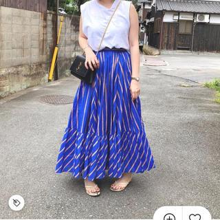 UNITED ARROWS - ストライプスカート