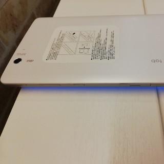 エルジーエレクトロニクス(LG Electronics)ののり様専用 8インチタブレット Qua tab PX ホワイト(タブレット)