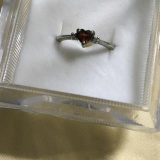 ガーネット ダイヤモンド リング(リング(指輪))