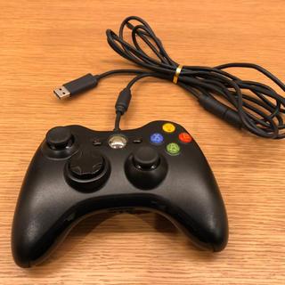 エックスボックス(Xbox)のxbox360有線コントローラー(家庭用ゲーム機本体)