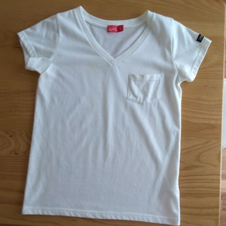 エックスガール(X-girl)のx-girl Vネック Tシャツ(Tシャツ(半袖/袖なし))