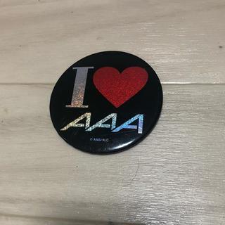 AAA - AAA 缶バッジ4個