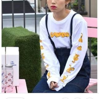 w closet - w closet ガーフィールド コラボ 長袖Tシャツ ロンT