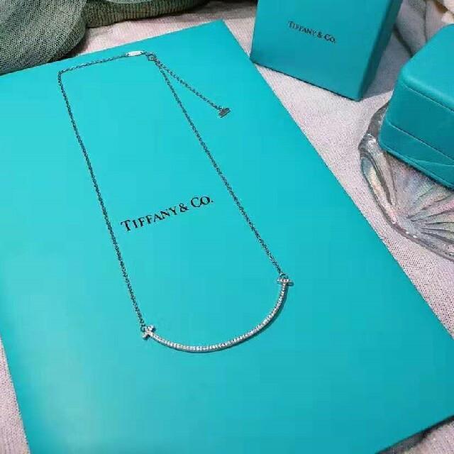 Tiffany & Co.(ティファニー)の★ティファニー★ Tスマイルネックレス レディースのアクセサリー(ネックレス)の商品写真