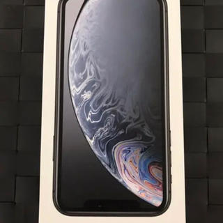 Apple - 新品 未使用 SIMロック解除済 au iPhone XR 64GB ブラック