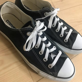 CONVERSE - コンバース 25.5 黒
