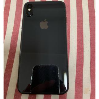 Apple - 訳あり Iphone X 256Gb Sim フリースペースグレイ