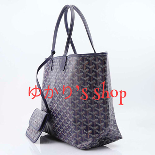 hot sale online 6617b 618ac ゴヤール GOYARD サンルイGM SANT LOUIS GM (ネイビー)