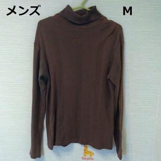 メンズ タートルカットソー M(Tシャツ/カットソー(七分/長袖))