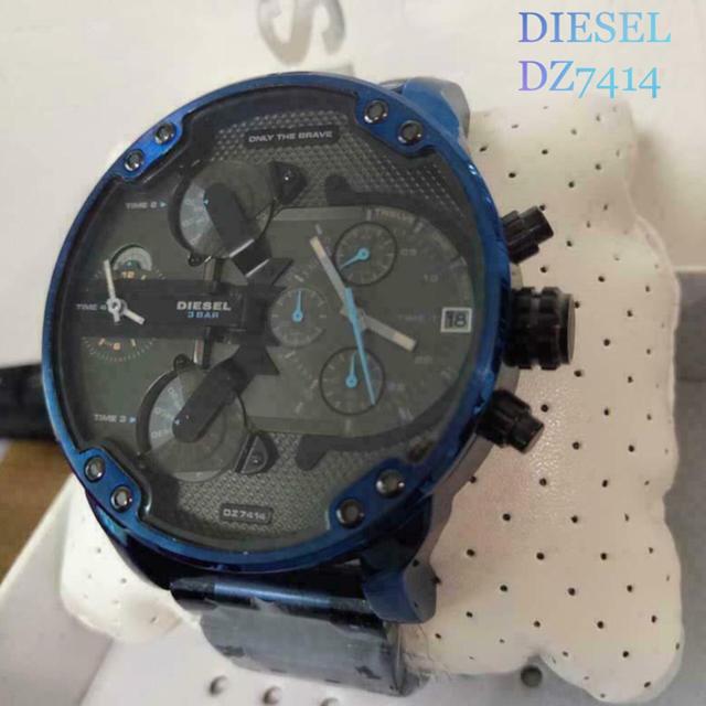 エルメスケリーウォレット財布 | DIESEL - 限定値下げ!早い者勝ち!新品未使用 DIESEL DZ7414腕時計 青 クロノの通販 by ネコール@pjajq|ディーゼルならラクマ
