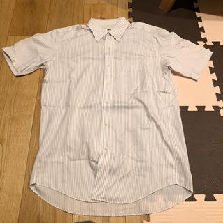 ユニクロ(UNIQLO)のUNIQLO ボーダーYシャツM(シャツ)