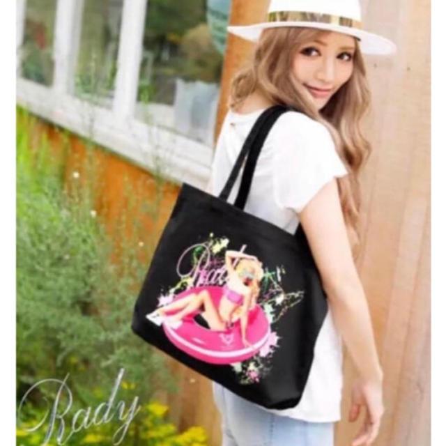Rady(レディー)のRady Radyちゃんトート パリピガール スクエア トート バッグ レディースのバッグ(トートバッグ)の商品写真