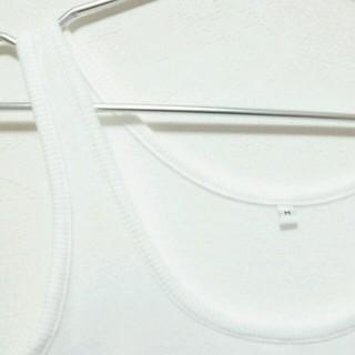 ムジルシリョウヒン(MUJI (無印良品))の無印良品 リブタンクトップ(タンクトップ)