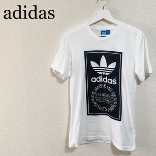 adidas - ★美品★アディダスオリジナルス Tシャツ メンズM 白 トレフォイル ビッグロゴ