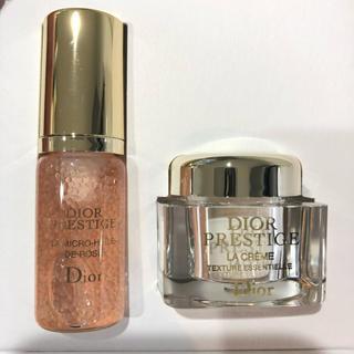 Christian Dior - ディオール プレステージ ユイルドローズ ラクレーム  セット