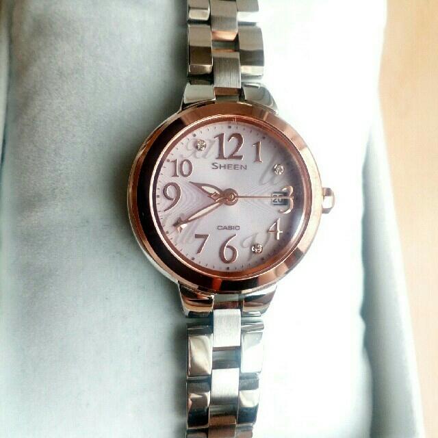 エルメス ハワイ限定 バッグ - CASIO - カシオ シーン SHEEN ソーラー 腕時計 SHE-4506SBS-4AJFの通販 by リラッくまちゃん|カシオならラクマ