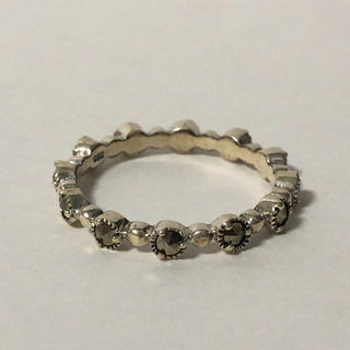 553 シルバーリング 石付 925(リング(指輪))