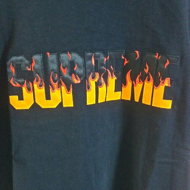 Supreme(シュプリーム)のSupreme Flame top メンズのトップス(Tシャツ/カットソー(半袖/袖なし))の商品写真