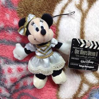Disney - ワンマンズドリーム ミニー  ぬいぐるみストラップ ぬいスト ショー